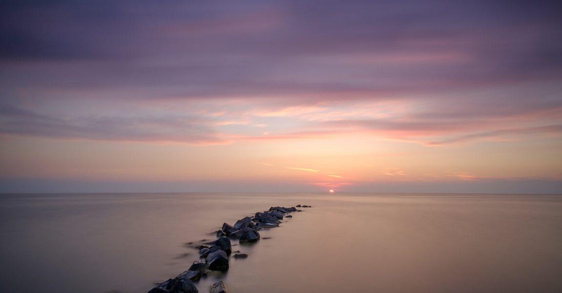 Sunset at Hindeloopen